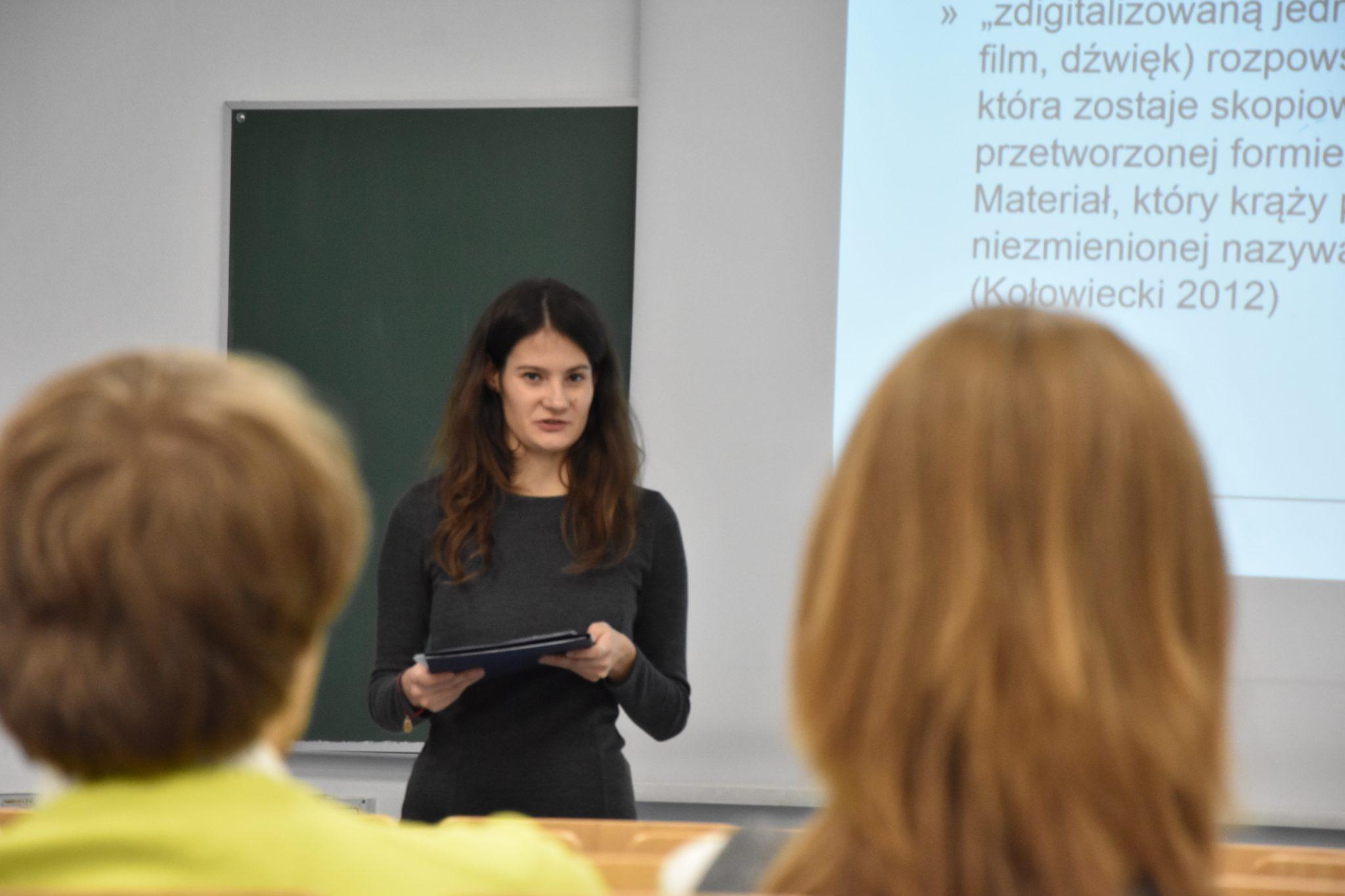 Karolina Pach – Wydział Humanistyczny AGH